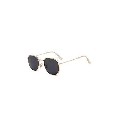 shixiaodan Sonnenbrille für Damen Frauen-Vintage verspiegelte runde polarisierte Sonnenbrille im Freienbrillen Eyewea