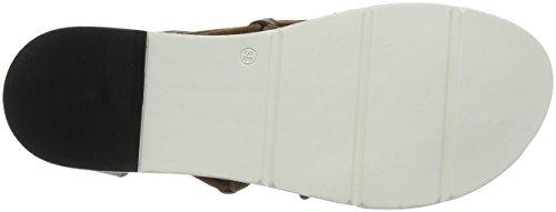 Mjus Ladies 809008-0201-0002 Sandali Con Il Cinturino Multicolore (beige / Rosa)