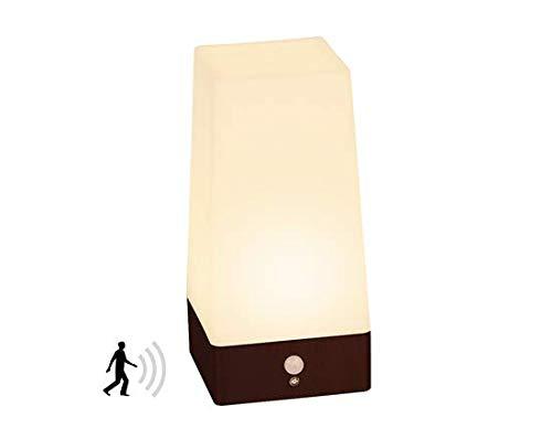 Signstek Wireless PIR Motion Sensor LED-Nachtlicht batteriebetrieben Tisch Lampe, Quadrat -