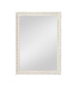 Specchiera di legno stile vintage con fregi disponibile in diverse rifiniture L'ARTE DI NACCHI SP-140