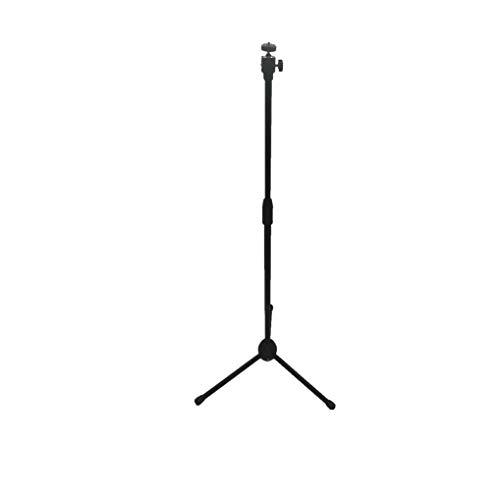 Qucking Light Projektor-Ständer, Falte Heavy Duty Stativ Basis und alle Metall Regal/Tray verstellbar Schwenk/Rotierende Platte für Heimkino/Unterhaltung & Präsentation (Heavy-duty-video-stativ)