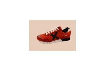 Munich, Sneaker uomo rosso rosso rosso Size: 40