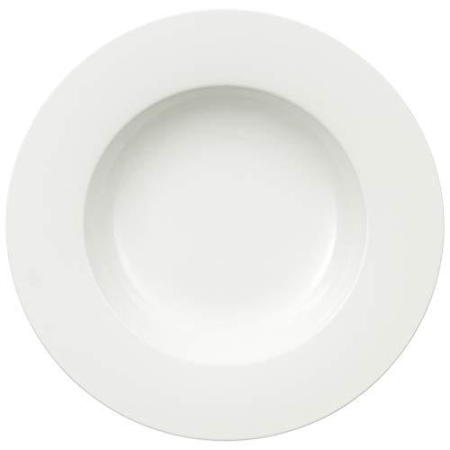 Villeroy & Boch Royal Pastateller, 30 cm, Premium Bone Porzellan, Weiß