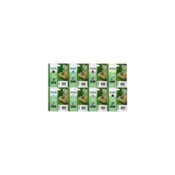 BULK PACKED ** FULL SET ** Epson Stylus Photo 2100 ink inkjet print cartridges T0341 T0342 T0343 T0344 T0345 T0346 T0347 T0348 - In foil no retail boxes