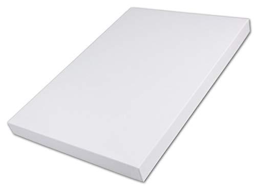 Boîte de Rangement et de Rangement de Haute qualité - 1 boîte de Rangement DIN A4 - Blanc - 300 x 212 x 21 mm