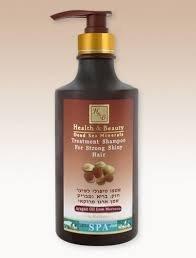 Health & beauty- Produit de la Mer Morte - Shampoing Traitant à l'Argan cheveux forts et brillants - Ref 327