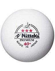 Nittaku pelotas de tenis de mesa Premium 40+