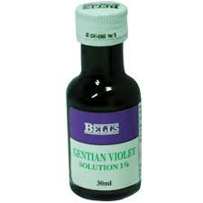 Gentian Violet 1% Solution 28ml by Bells & Son