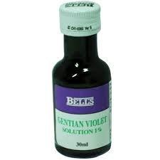 Gentian Violet 1% Solution 28ml by Bells & Son - Creme Hefe-infektionen