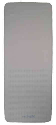 Wechsel Tents Selbstaufblasbare Isomatte Teron XL 10 XT - 198 x 77 x 10 cm, Grau