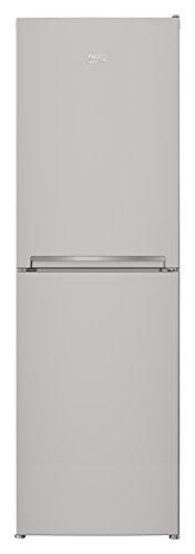 Beko RCHE390K30XP Kühlschrank / Extra großes Gefrierteil mit 123 Litern dank 4 Schubladen / A++ / Kühlteil 189 L / No Frost / 0 °C-Zone / LED-Innenbeleuchtung /  Antibakterielle Türdichtungen