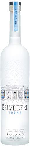 Belvedere Wodka Pure mit LED-Beleuchtung (1 x 3 l) -