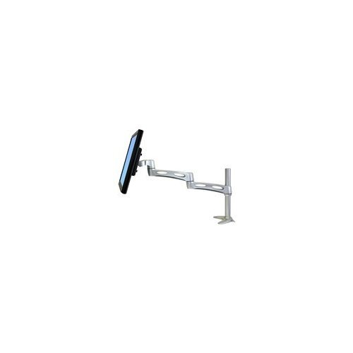 Ergotron 45-235-194 Neo-Flex Extend LCD Arm - Mounting kit ( mounting base, pivot, clamp base ) for LCD display - plastic, aluminum - silver - screen size: up to 22 inch - mounting interface: 100 x 100 mm, 75 x 75 mm by Ergotron Extend Lcd Arm