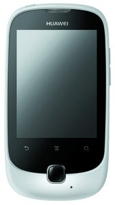 Huawei Huawei Ascend Y100 Smartphone (7,1 cm (2,8 Zoll) Touchscreen, 3,2 Megapixel Kamera, Android 2.3) weiß