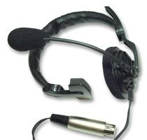 Asl Hs1/d Headset, Single Side With Xlr4