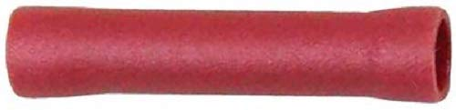 Ancor 230130 Marine Grade Electrical Vinyl Insulated Butt Connectors (8-Gauge, Red, 2-Pack) -