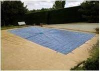 Pool Tarpaulin 8x 14m 150g/m² Blue Type