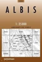 Swisstopo 1 : 25 000 Albis: Landeskarte der Schweiz