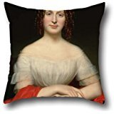 oil-painting-charles-cromwell-ingham-portrait-of-fidelia-marshall-pillow-covers-20-x-20-inches-50-by
