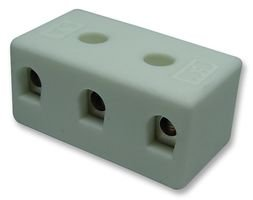Ceramic Terminal Block (CERAMIC TERMINAL BLOCK, 3WAY/5A CPO-5A-3W By Best Price Square)