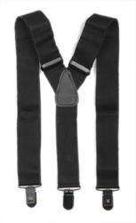 Hosenträger Y Form: schwarz