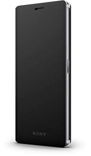 Sony Style Cover Stand SCSI10 für Xperia 10, Schwarz Style-hülle