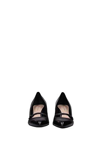 322681VFBS01000 Bottega Veneta Talon Femme Cuir Noir Noir