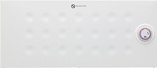 1000 Watts Ultra Slim Panel Convector Heater 24Hr Timer Adjustable Thermostat