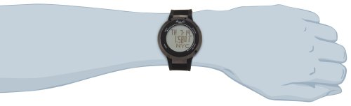 Kenneth Cole Men's Touch Black Silicone Strap Watch Kc1776