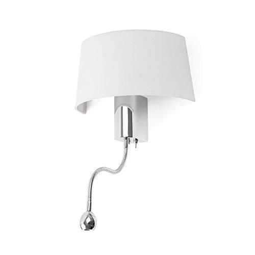 Faro Barcelona HOTEL 29941 - Lámpara aplique, color blanco