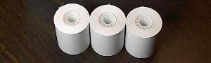 50 Receipt Paper Rolls for Most Samsung Cash Registers by B & A Computer
