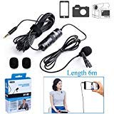 BOYA BY-M1 Omnidirectional Camera Lavalier Condenser Microphone for Canon Nikon Sony iPhone 6