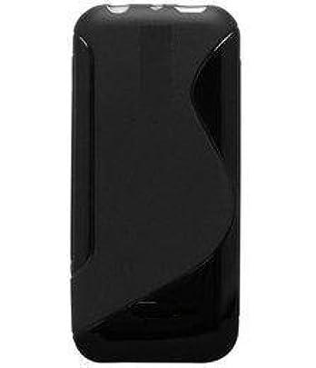 Icod9 Back Cover for Nokia 105  2017  Dual Sim  Black, Flexible Case
