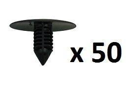 MSI - Fermoirs plastique noir trou 10mm 7703077435