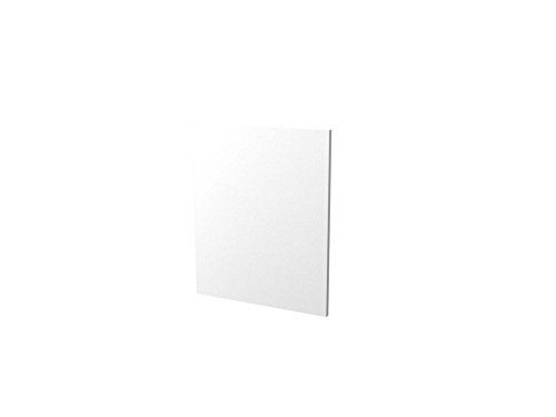 Geschirrspülerblende 60 cm breit vollintegrierter Geschirrspüler Weiß Sonoma Eiche - Salerno