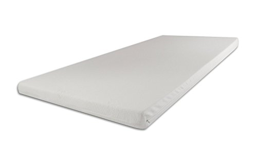 SW Bedding Topper Viscoelastische Matratzenauflage 180 x 200 x 9 cm H3 mit Bezug medicare - 30 Tage Probeschlafen