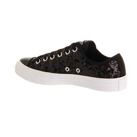 Converse All Star Ox Uomo Sneaker Grigio Black