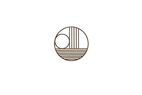 Ferm Living - Topfuntersetzer Untersetzer - Outline Trivet - Kreis Rund - Holz