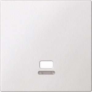 Merten MEG3380-0419 Zentralplatte mit Kontrollfenster für Zugschalter, polarweiß, System M -