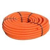 50 Meter Kabelschutzrohr Elektro Installationsrohr Wellrohr flexibel orange M20 Leichte Druckbeanspruchung