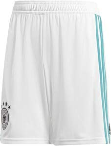 adidas Kinder DFB Away Short 2018 White/EQT Green s16, 176