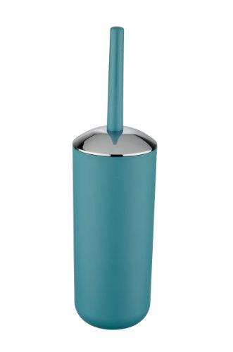 Wenko WC-Garnitur Brasil - WC-Bürstenhalter, absolut bruchsicher, Ø 10 x 37 cm, petrol
