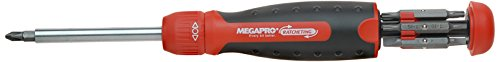 Megapro 211R2C36RD 13-In-1Ratschenantrieb, rot Combo Driver Bits