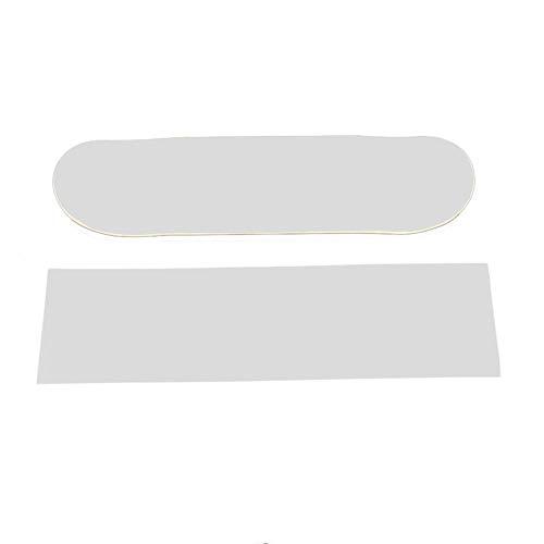 Biback 8423cm Skateboard 4Wheel Schleifpapier Griptape Verschleißfest Haarverdichtung groß Deck Schleifpapier Griptape für Skaten/durchsichtig -