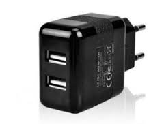 Amp Ladegerät 2 (Hostey® DUAL USB Ladegerät 2000mA einsetzbar als Netzteil / Ladekabel / Ladegerät - Ladeadapter 2,0A schwarz für iPad, iPhone, Android Phones Tablets, Smartphone, Handy, PSP, GoPro, GPS-)