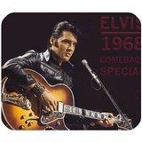 Elvis Presley Tapis de Souris personnalisé en Forme de Tapis de Souris rectangulaire en 25x 20cm Gaming Mouse Pad/Tapis de