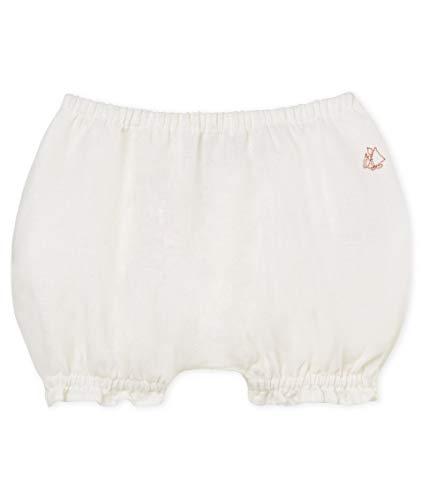 Petit Bateau Baby-Mädchen BASALTE Höschen, Blanc (Marshmallow 01), 3-6 Monate