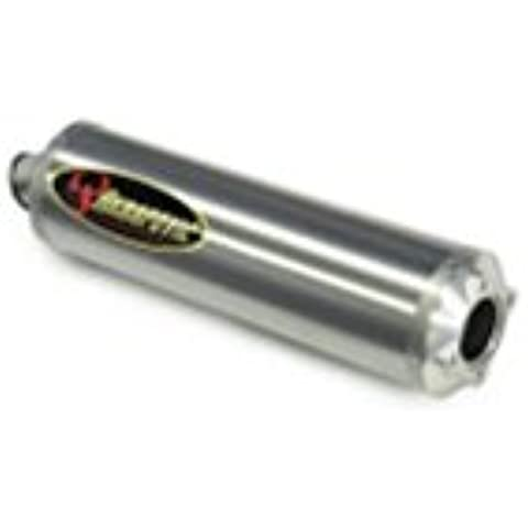 Akrapovic Suzuki GSX-R 600 04 – 05 bolt-on Titan Oval/Abe