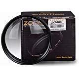 ZOMEI Ultra Slim 58mm 0.45x Wide Angle Filter Lens for Nikon Camera