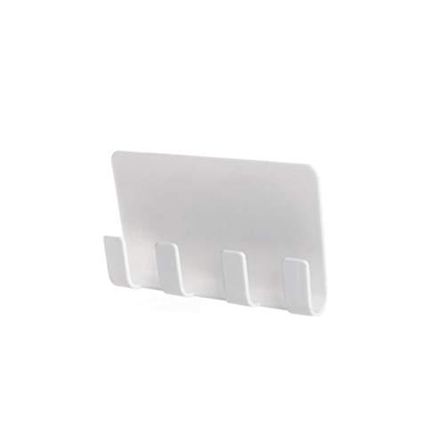 joizo 1PC Wand-Handy-Halterung Lade Convenient Handyhalter Wand Bedside Sockel Storage Rack Ständer Halter Lade (weiß) - Sockel-storage-bett